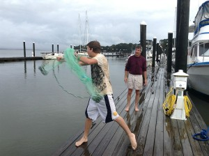 first cast net try